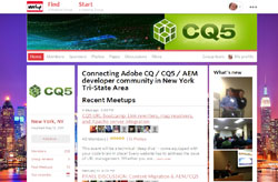 The NYC AEM/CQ5 Meetup