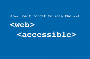 Keep the web accessible