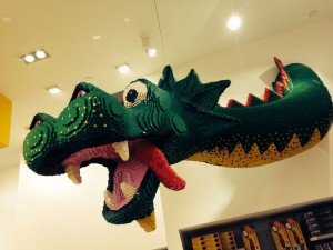 The Lego Dragon...