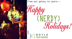 Happy (nerdy) Holidays! from Boyle Software