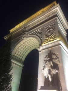 The arch at Washington Square, NYC.