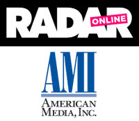 Radar Online and AMI logos