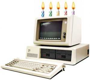 Happy birthday to the IBM 5150