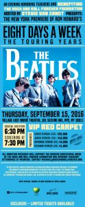 Beatles movie premiere for TeachRock.org